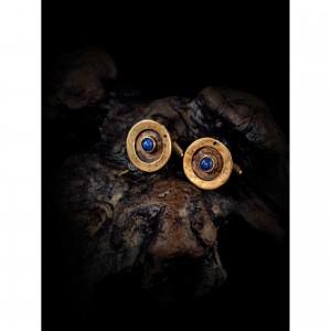 Handmade cufflinks with theme - design - Lapis Lazuli men's gift