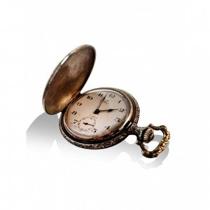 Vintage TELL SWISS MADE pocket watch1952 men's gift
