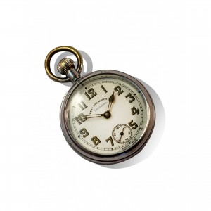 West End watch co-mechanical pocket watch men's gift