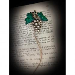 Bookmark - vine leaf