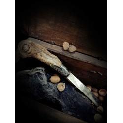 Olive wood - paper cutter