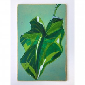 Painting with theme - leaf Paintings