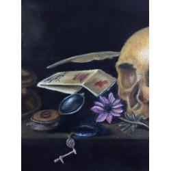 Painting - Pieter Claesz Vanitas