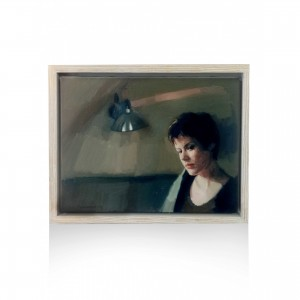 Papaioannou Giannis painting - the girl Paintings